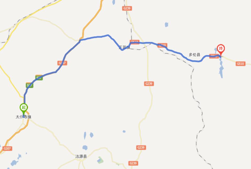 多伦地图高清版大图