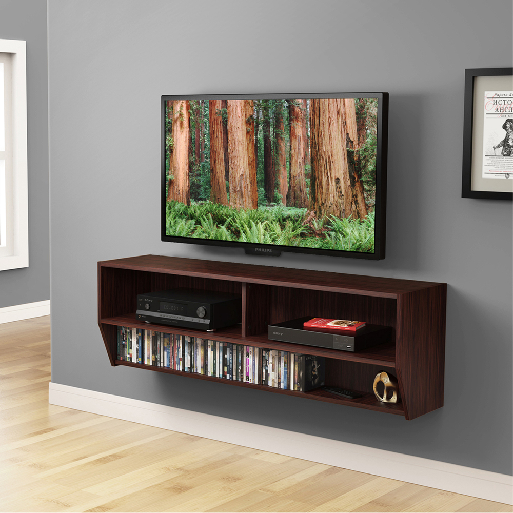 Wall Mount Tv Stand Furniture Stunning Home Decorating