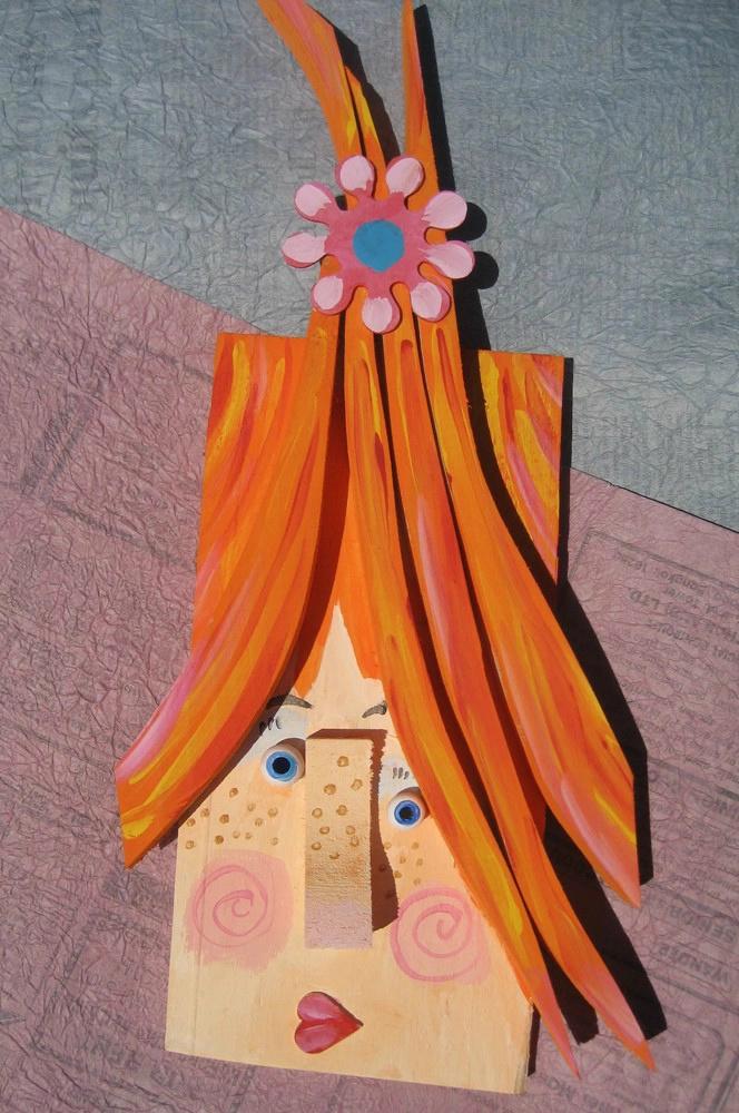艺术——废木块创意