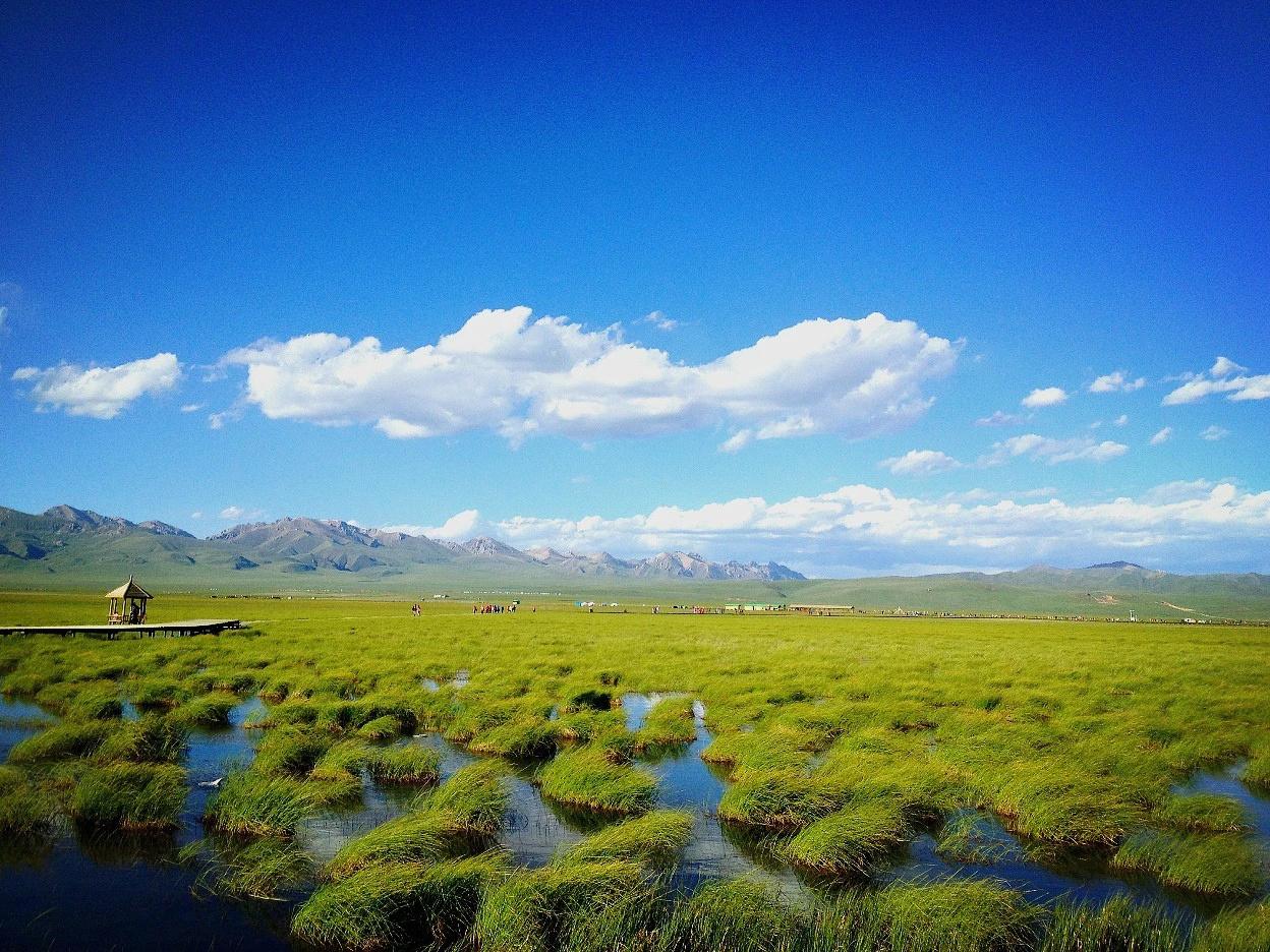 尕海:青海省海北藏族自治州尕海位于