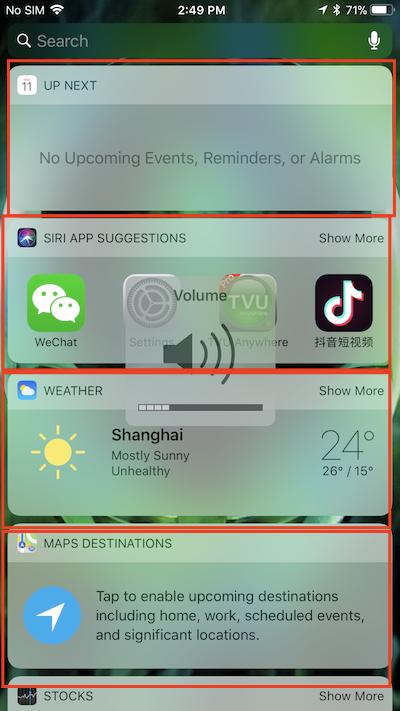 app extension Demo