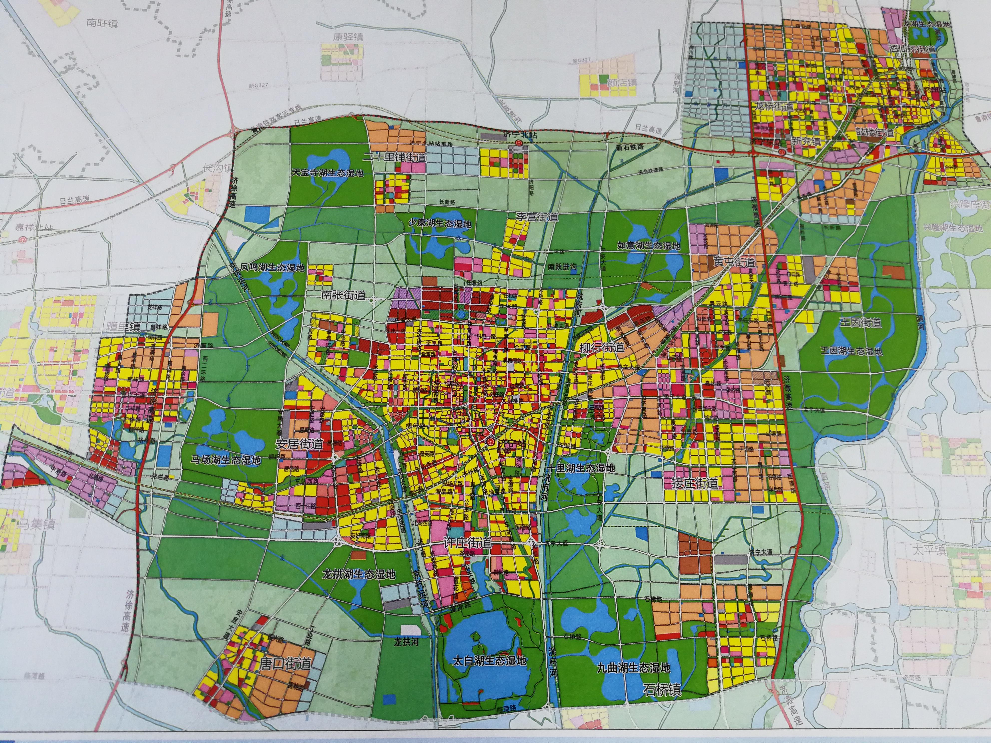 市区规划图 !