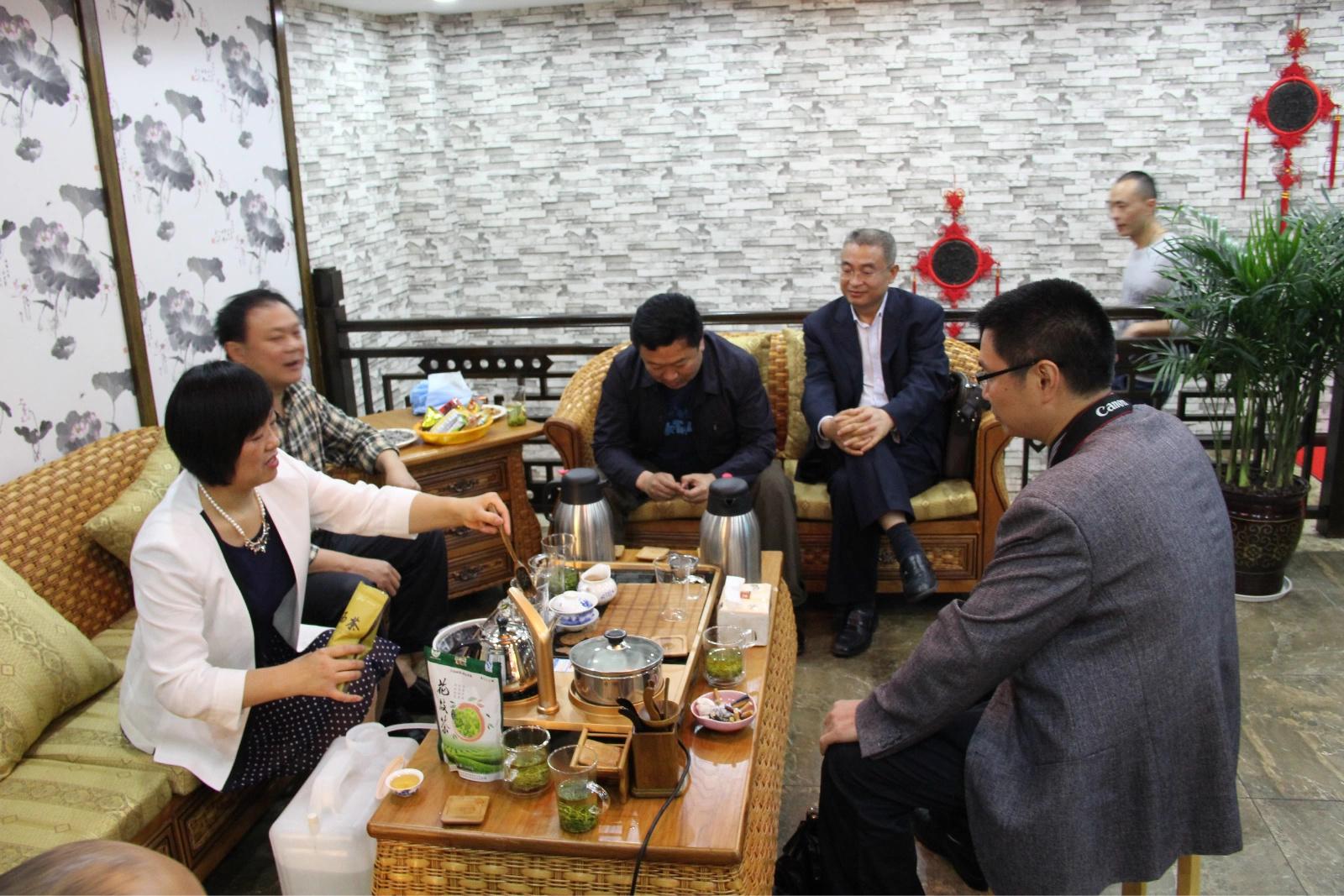 5.26恩施硒都茶城开城暨花枝茶体验馆开业志庆
