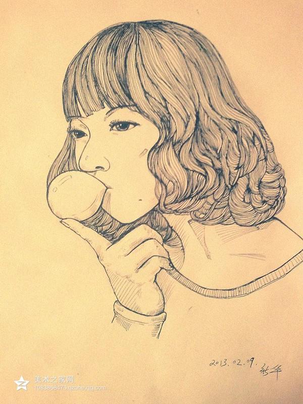 跟着大师学习手绘插画