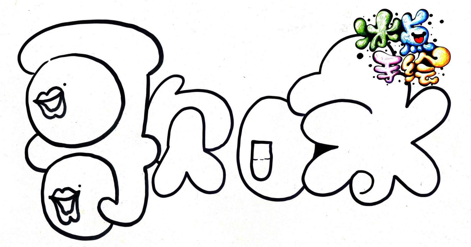 pop简笔画手绘图片