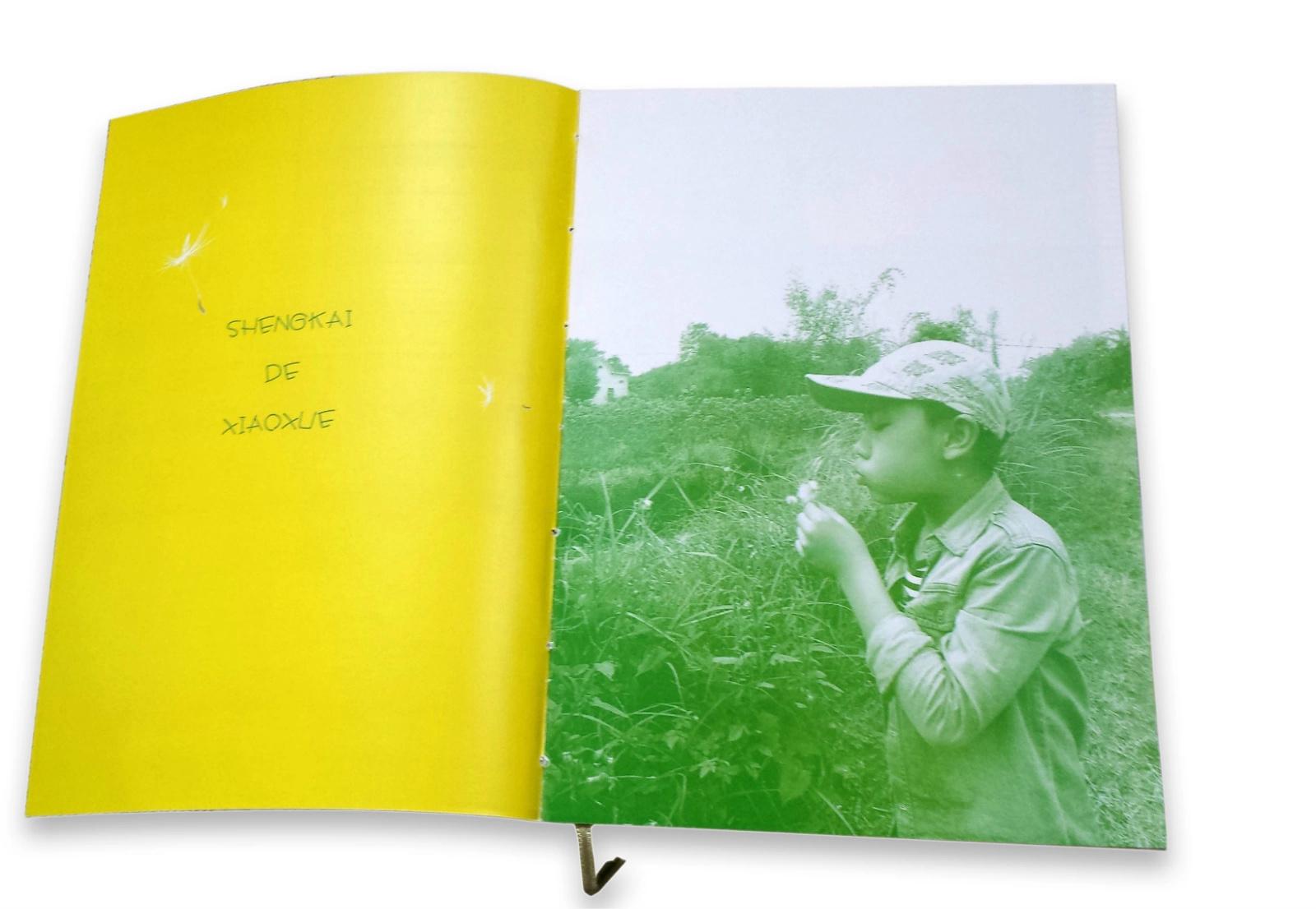 纯手工:儿子的毕业纪念册
