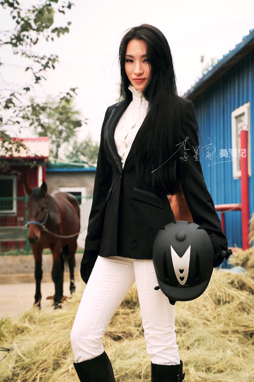 中国第一哈雷美女骑士
