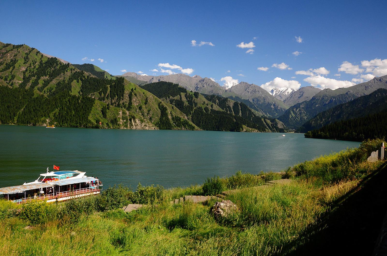 新疆游几天,七 天山天池,博物馆,国际大巴扎