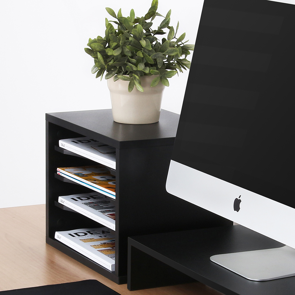 Fitueyes Desktop File Organizer Compartments Office Supply