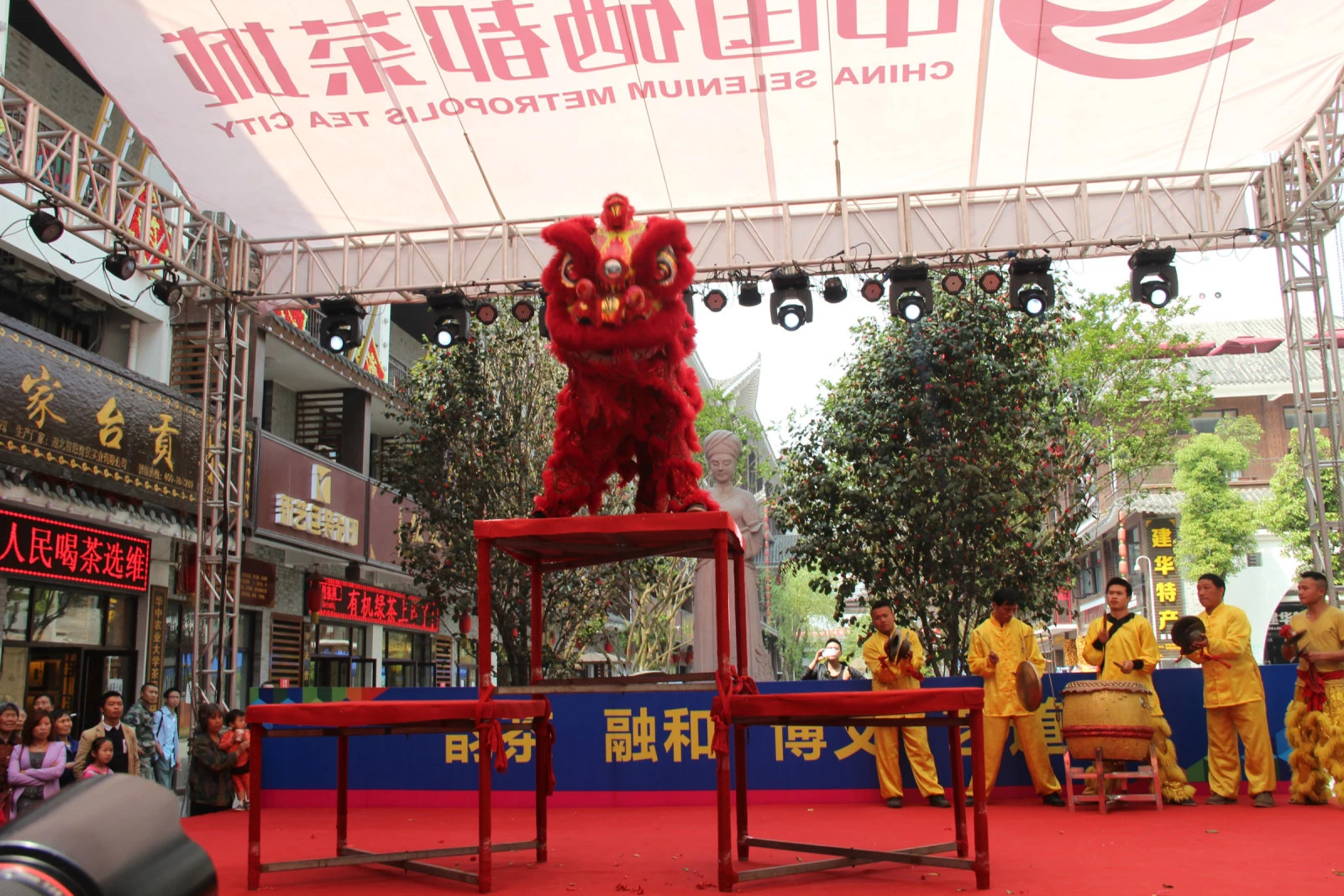 硒都茶城-施州文化博覽園啟動儀式