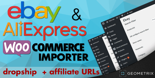 wordpress插件-Ebay & Aliexpress WooImporter 2.8.5