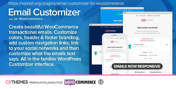 wordpress插件-Email Customizer for WooCommerce 3.33