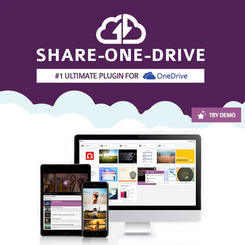 wordpress插件-Share-one-Drive | OneDrive plugin for WordPress 1.14.3.1