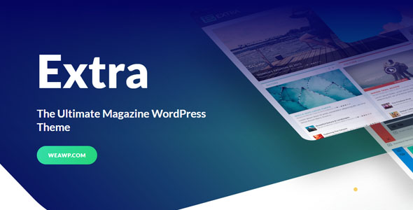 wordpress主题-Elegant Themes Extra Theme 4.9.0