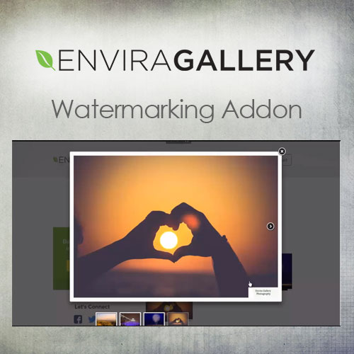 wordpress插件-Envira Gallery – Watermarking Addon 1.4.2