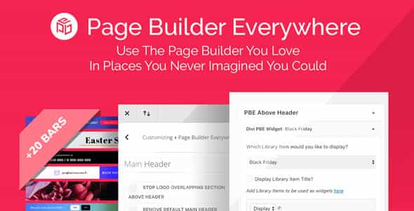 wordpress插件-Divi Page Builder Everywhere 3.1.2