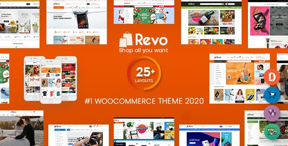 wordpress主题-Revo 4.0.2-多用途WooCommerce WordPress主题
