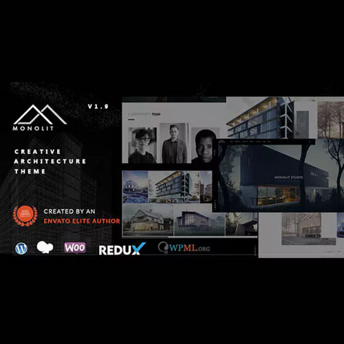 wordpress主题-Monolit – Responsive Architecture WordPress Theme 2.0.2