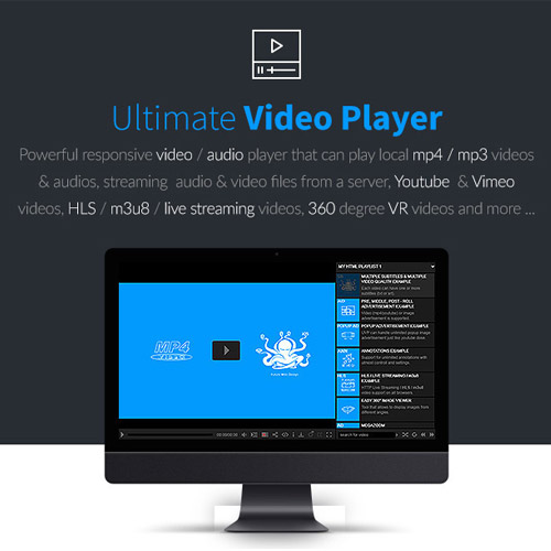 wordpress插件-Ultimate Video Player WordPress Plugin 8.4