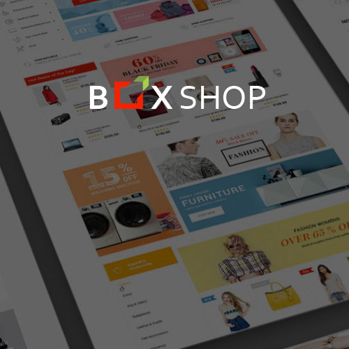 wordpress主题-BoxShop – Responsive WooCommerce WordPress Theme 1.5.1