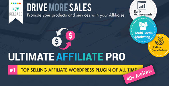 wordpress插件-Ultimate Affiliate Pro WordPress Plugin 6.9