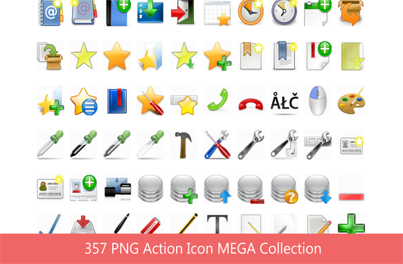357 PNG Action Icon MEGA Collection