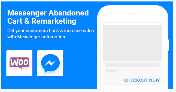 wordpress插件-CartBack WooCommerce for Facebook Messenger 2.8.1