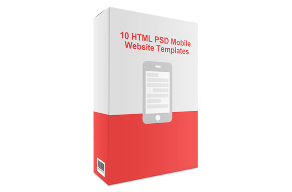 10 HTML PSD Mobile Website Templates