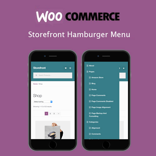 wordpress插件-Storefront Hamburger Menu 1.2.2