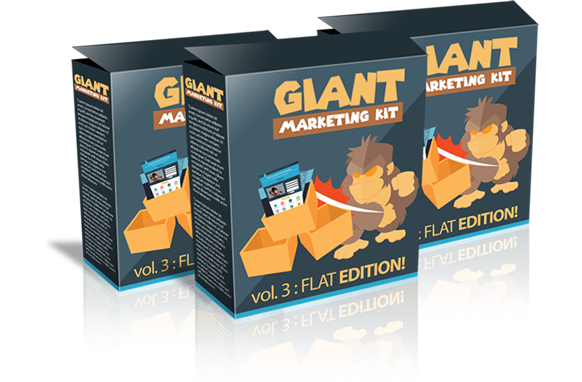 Giant Marketing Kit Volume 3 Flat Edition