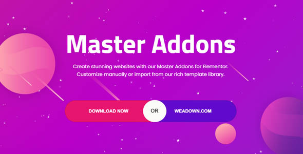 wordpress插件-Master Addons for Elementor Pro 1.5.2.1