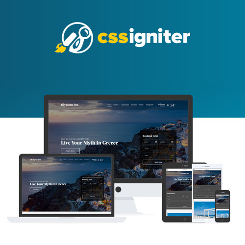 wordpress主题-CSS Igniter Olympus Inn Hotel Motel WordPress Theme 1.8.0