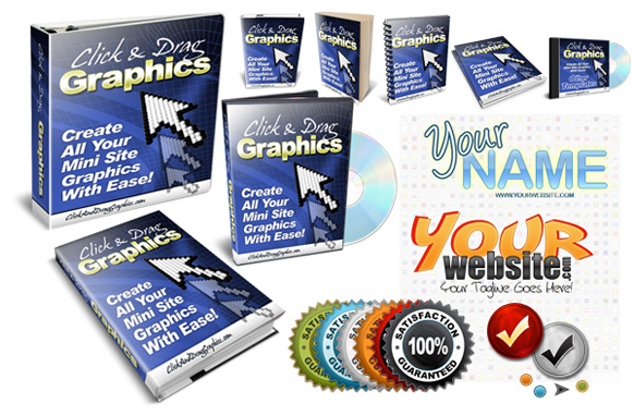 Click and Drag Graphics Starter Templates
