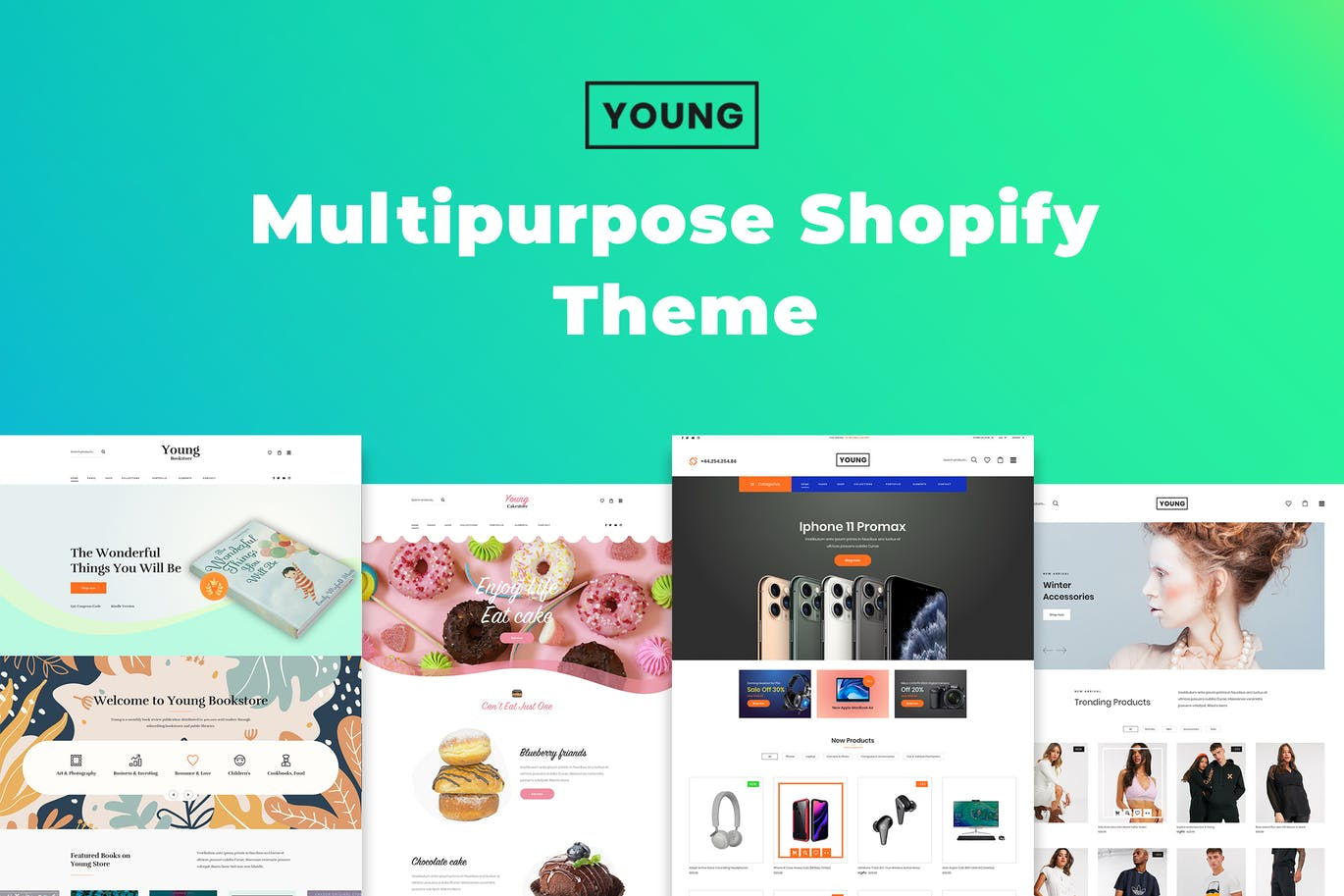 Young – 多用途Shopify主题