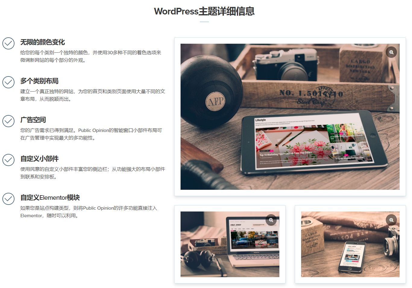 wordpress主题-CSSIgniter Public Opinion WordPress Theme 1.3.0