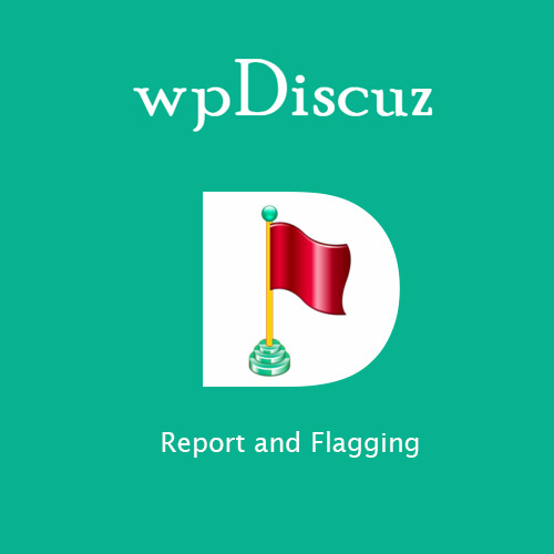 wordpress插件-wpDiscuz – Report and Flagging 7.0.5