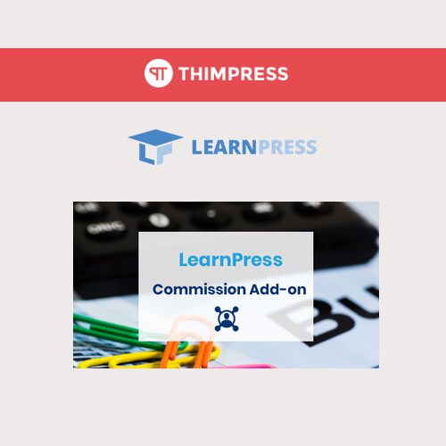 wordpress插件-LearnPress – Instructor Commission 3.0.5