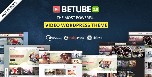 wordpress主题-Betube 3.0.3 –视频WordPress主题