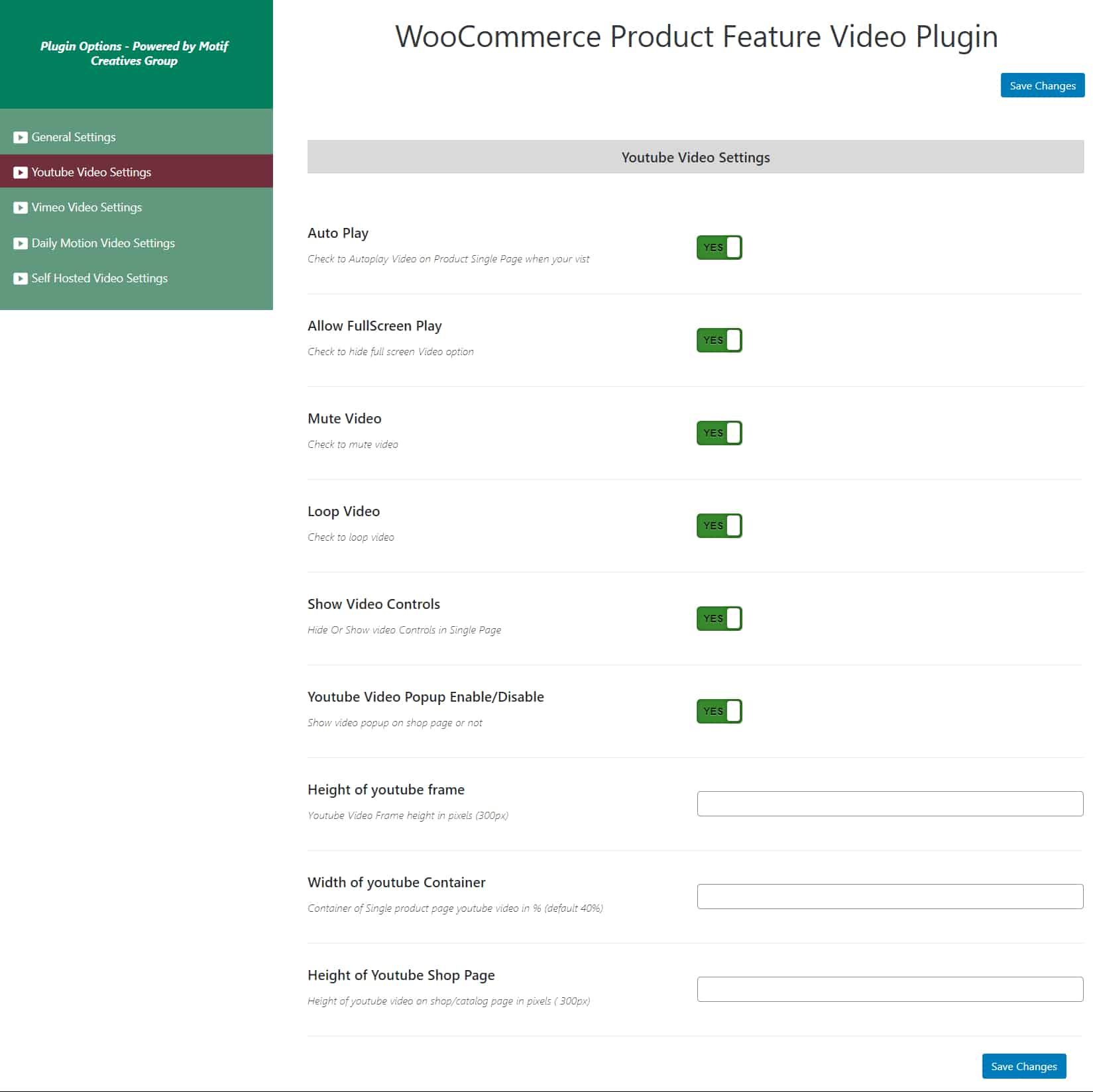 wordpress插件-WooCommerce Product Featured Video 2.0.3