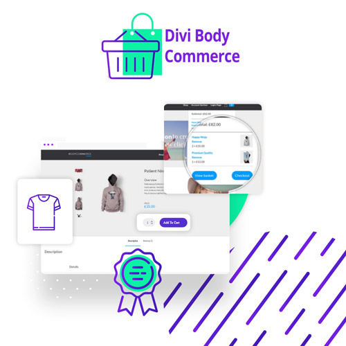 wordpress插件-Divi BodyCommerce 5.1.3