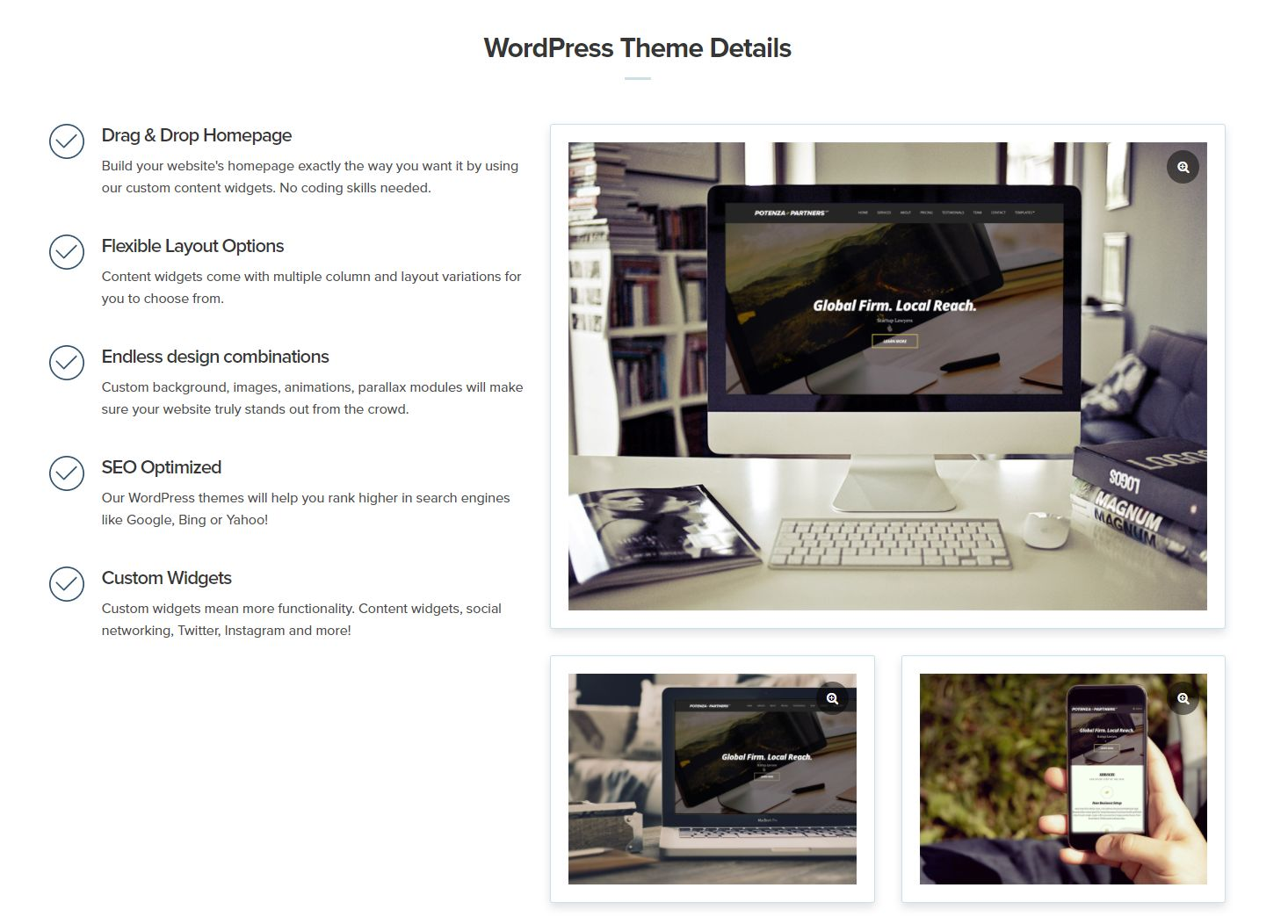 wordpress主题-CSSIgniter Potenza WordPress Theme 1.4.0
