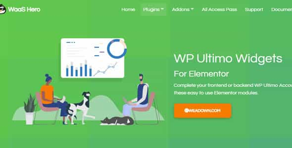 wordpress插件-WP Ultimo Widgets for Elementor 1.0.5