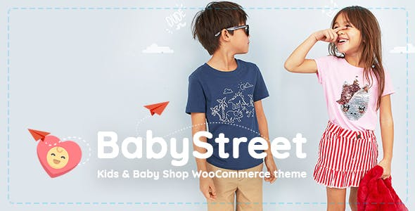 wordpress主题-BabyStreet Theme 1.5.0