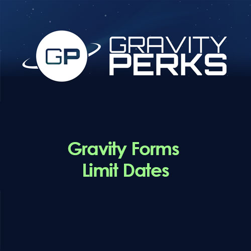 wordpress插件-Gravity Perks – Gravity Forms Limit Dates 1.0.25