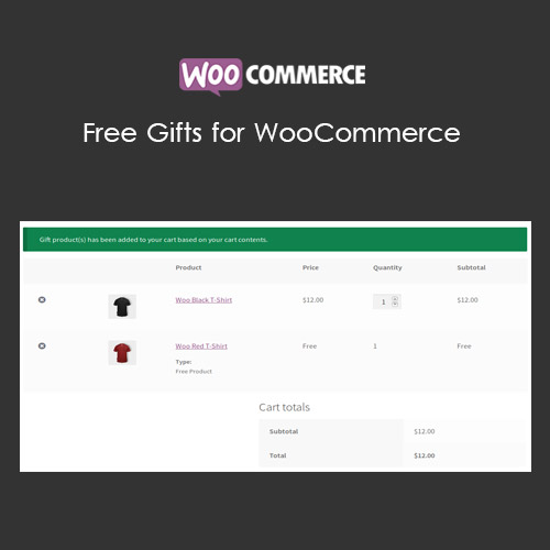 wordpress插件-Free Gifts for WooCommerce 6.6