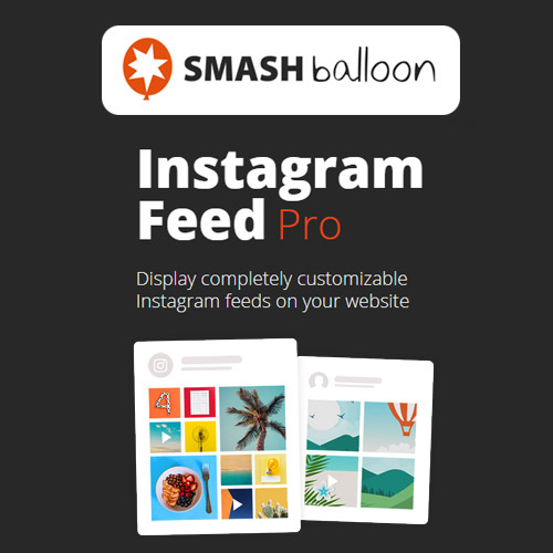 wordpress插件-Instagram Feed Pro By Smash Balloon 5.12
