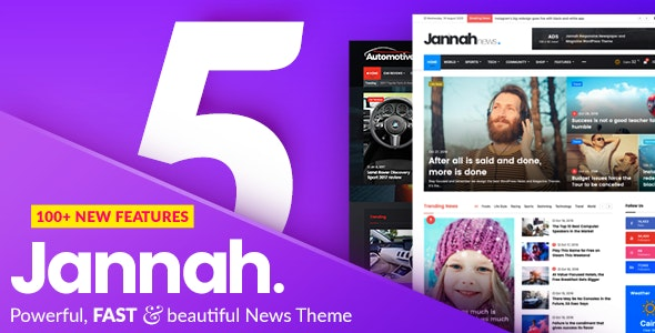 wordpress主题-Jannah News Theme 5.4.0