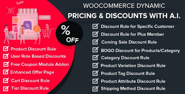 wordpress插件-WooCommerce Dynamic Pricing & Discounts with AI 1.6.5
