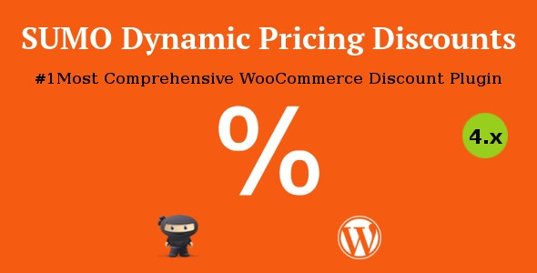 wordpress插件-SUMO WooCommerce Dynamic Pricing Discounts 5.4