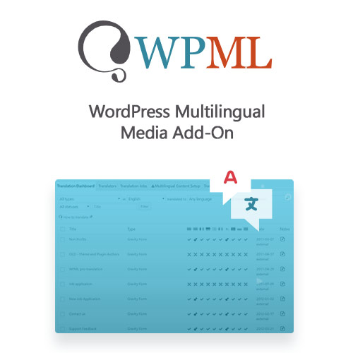 wordpress插件-WordPress Multilingual Media Add-On 2.6.4